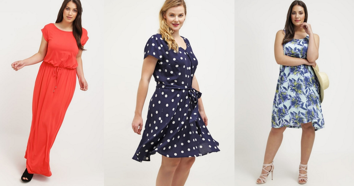 sukienki na lato dla puszystych