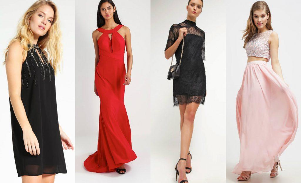 Tanie sukienki na sylwestra (fot. zalando.pl)