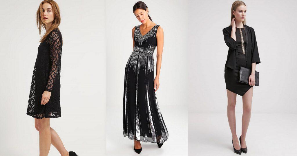 sukienki sylwestrowe czarne