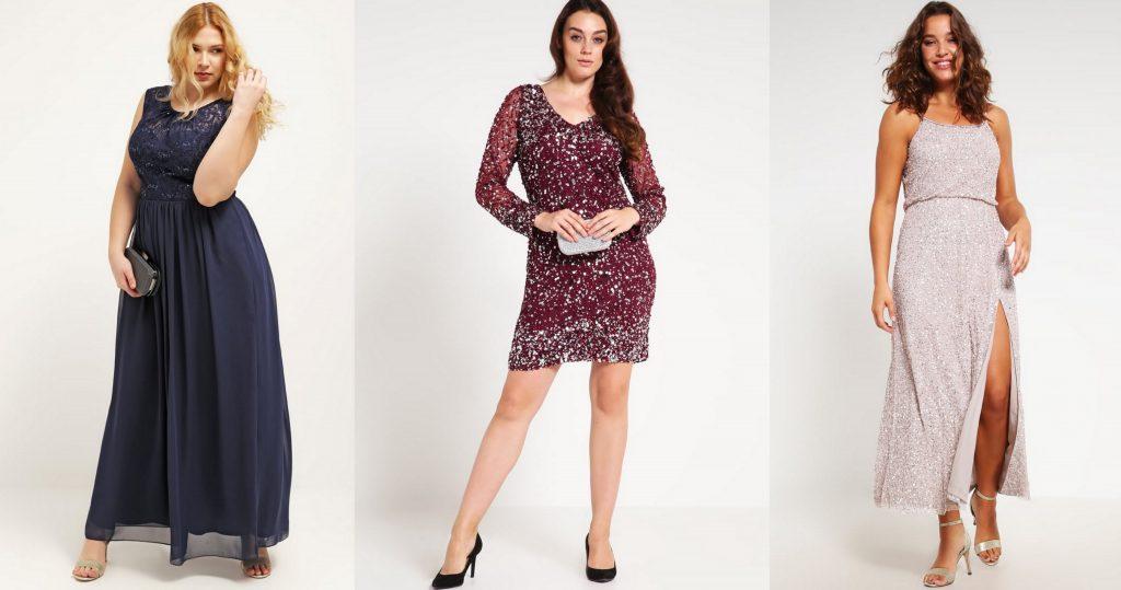 sukienki sylwestrowe dla puszystych