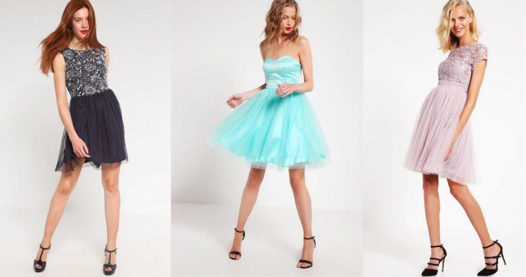 sukienki studniówkowe krótkie
