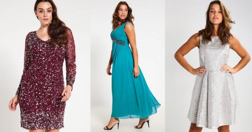 sukienki sylwestrowe dla puszystych przegląd