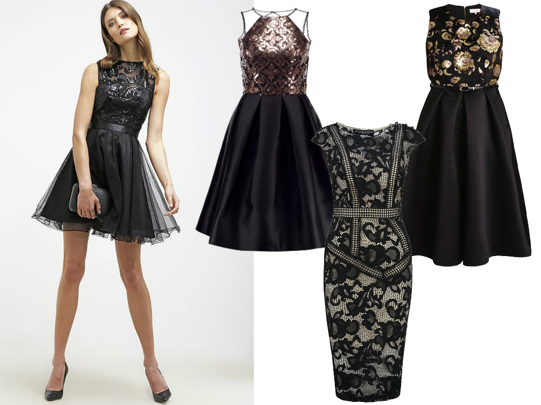 czarna sukienka na komunię dla mamy