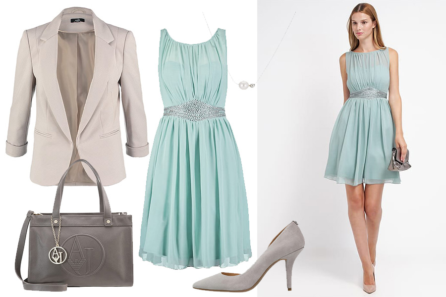 Sukienki na komunię dla chrzestnej - stylizacja nasz wybór (fot.zalando)