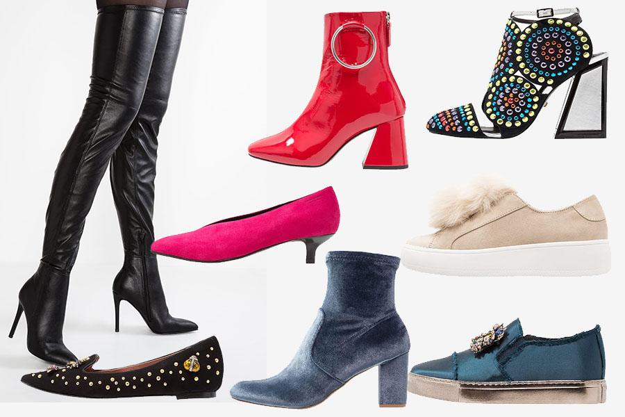 Modne buty na jesień - damskie: modele różnych marek (fot. materiał partnera, kolaż redakcja)