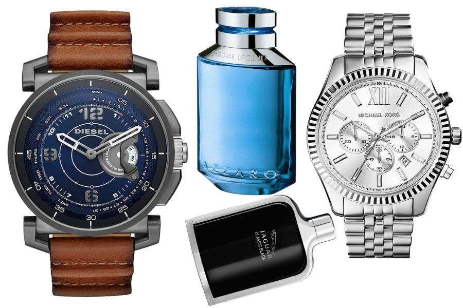 dzień chłopaka zegarki perfumy