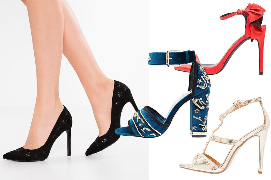 Buty na studniówkę 2018 (materiały zalando)