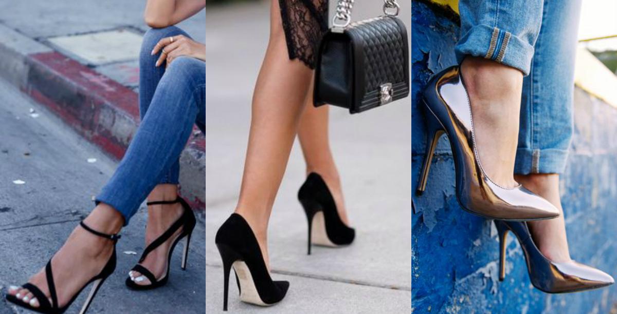 Szpilki – szukamy modnych butów na lato