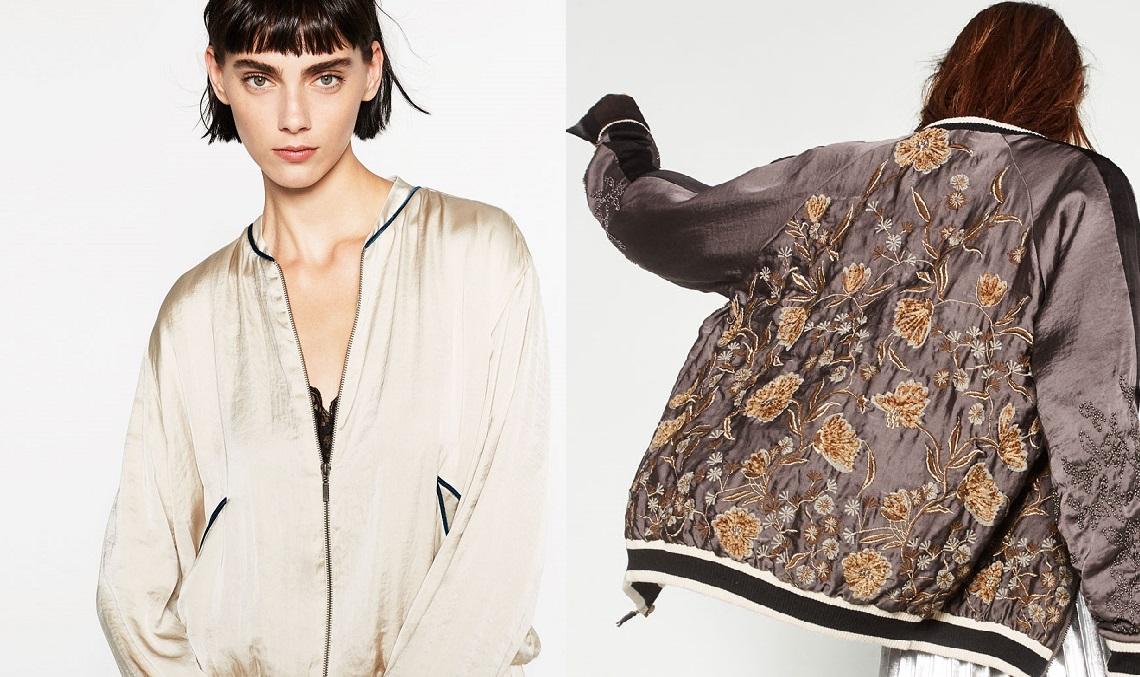 Bomber jacket: ta kurtka będzie hitem jesieni!