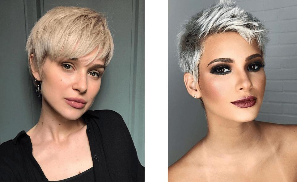 modne krótkie fryzury 2019