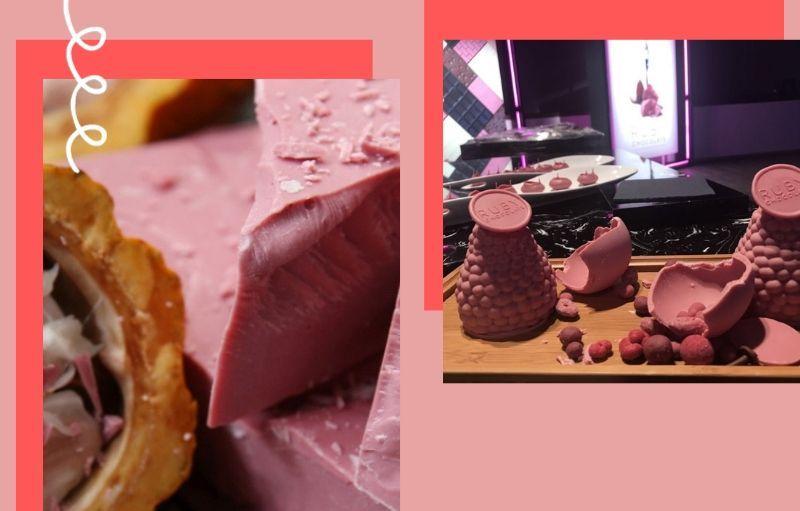 Różowa czekolada – nowy kulinarny hit!