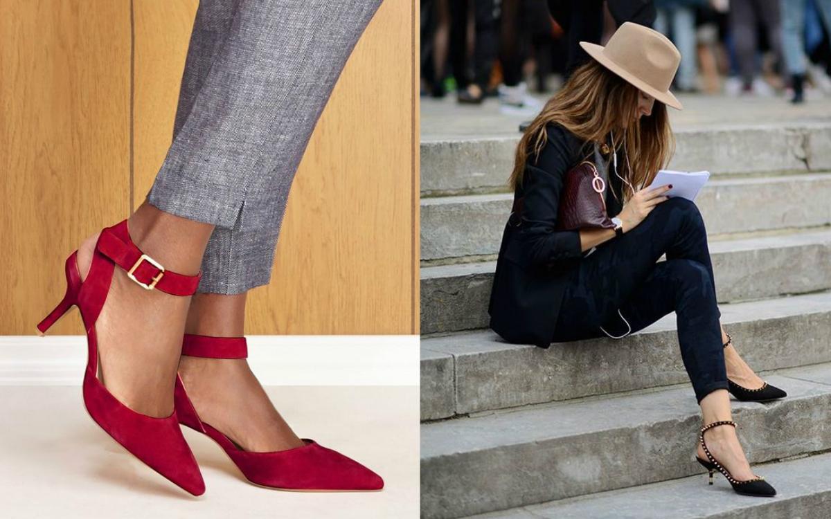 kaczuszki: buty na niskim obcasie