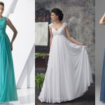 sukienki wieczorowe odcinane pod biustem