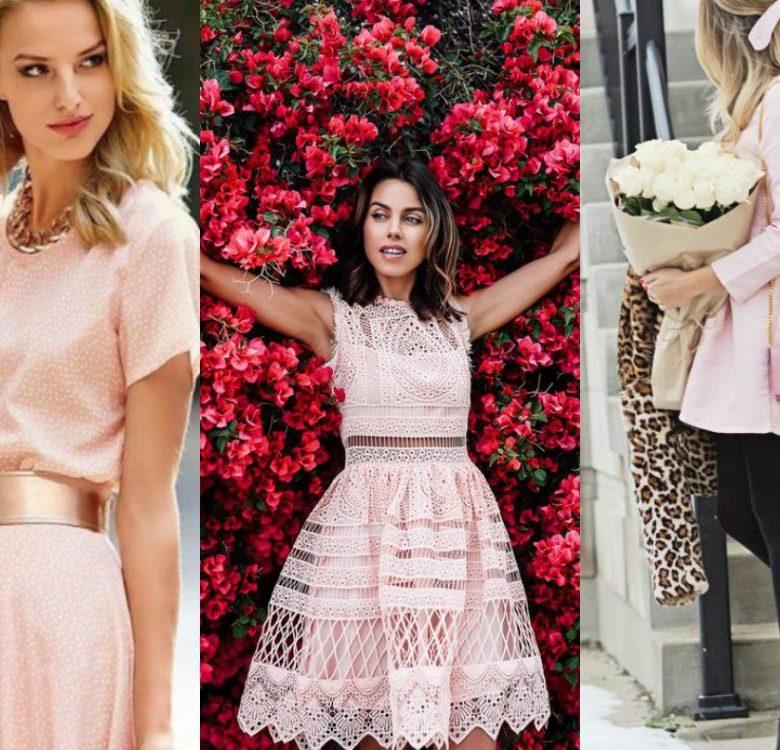 Sukienka pudrowy róż: jakie buty i dodatki?