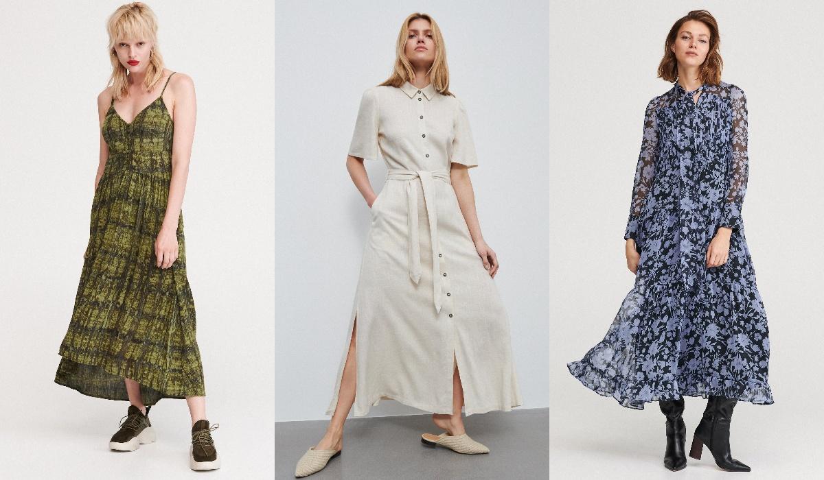reserved sukienki maxi
