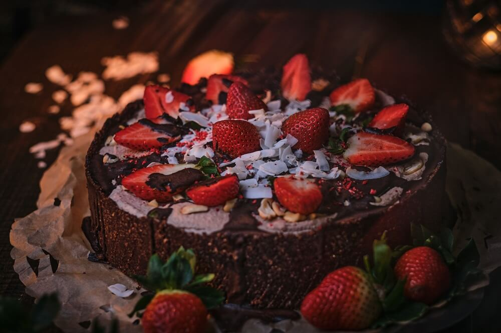 przepis na fit ciasto czekoladowe