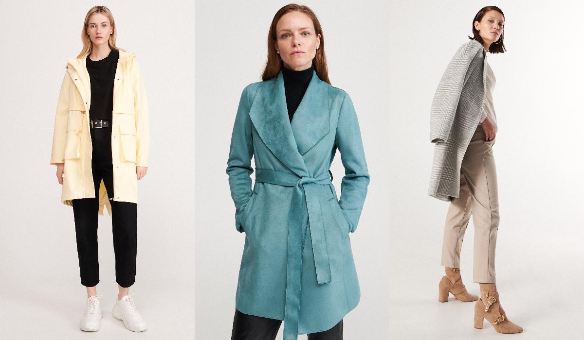 reserved płaszcze damskie