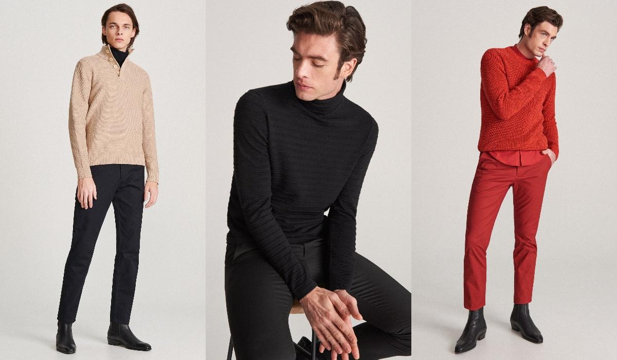 Reserved swetry męskie