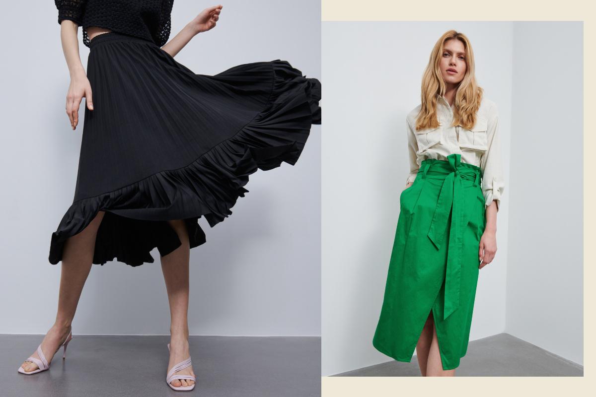 Reserved spódnice – niezliczona ilość fasonów i kolorów!