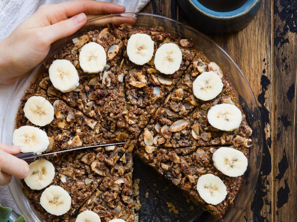 ciasto bananowe bez mąki i cukru