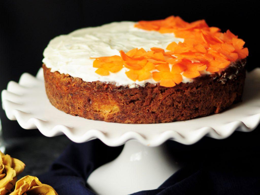 ciasto bez cukru i mąki marchewkowe