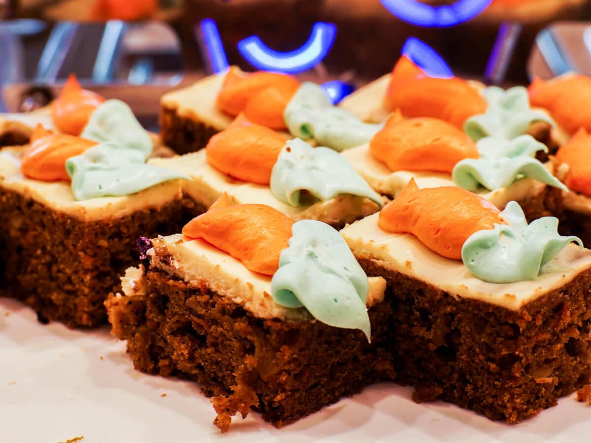 ciasto marchewkowe bezglutenowe wege