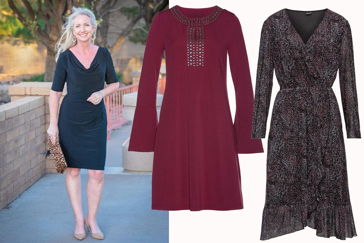 eleganckie sukienki dla 50 latki