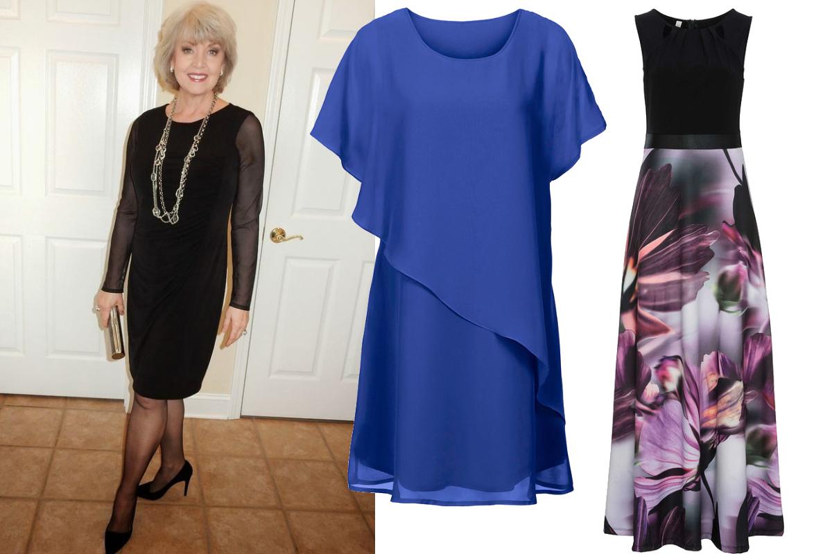 eleganckie sukienki dla 60 latki