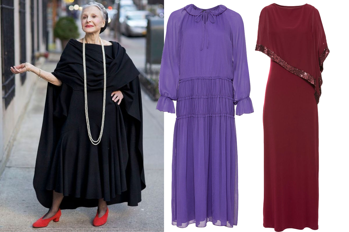 eleganckie sukienki dla 70 latki