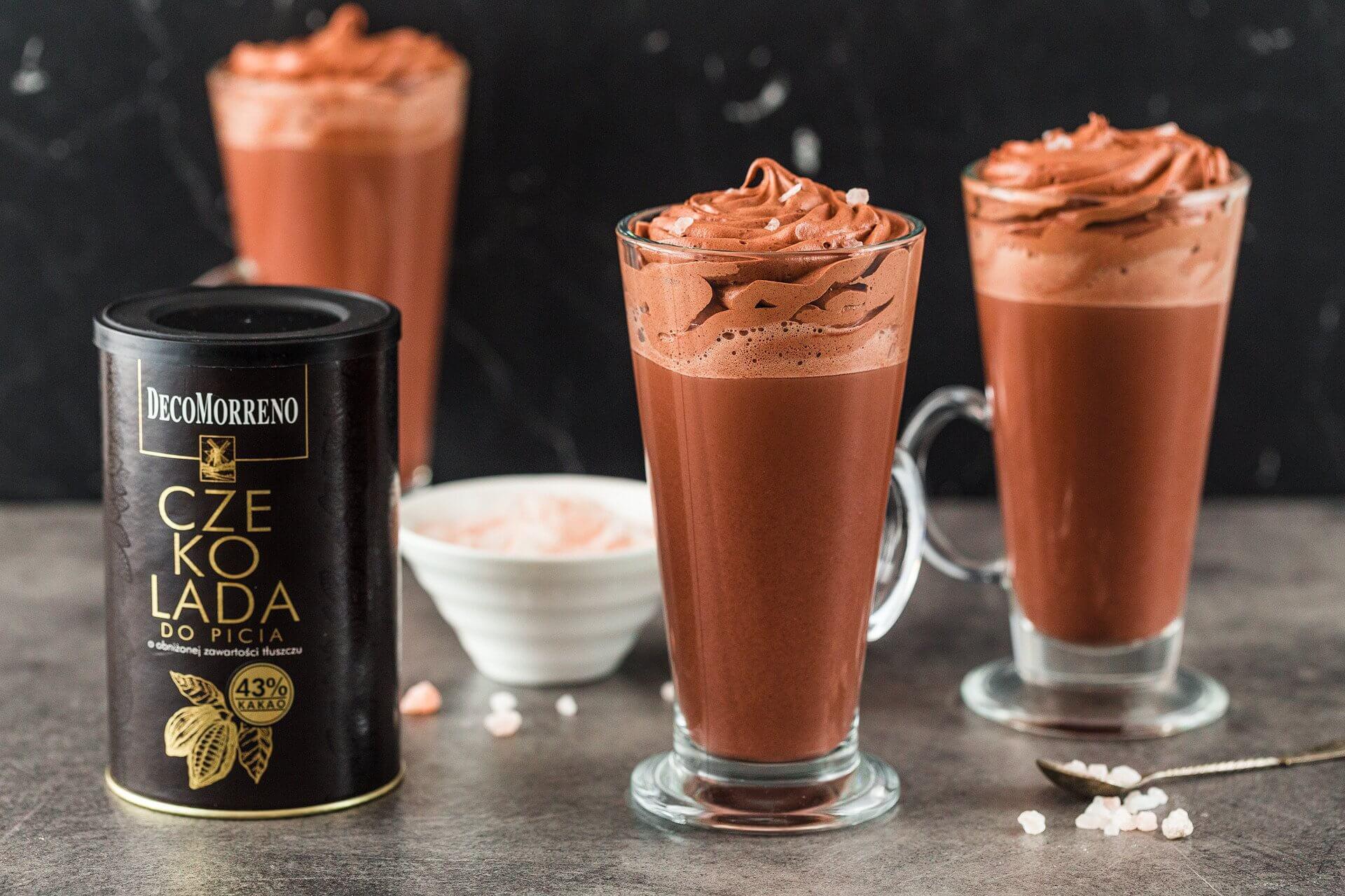Intensywny smak czekolady do picia autorstwa DecoMorreno