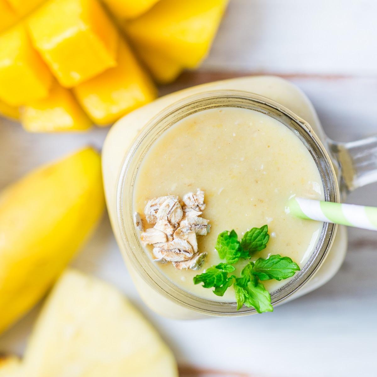 przepis na koktajl z mango